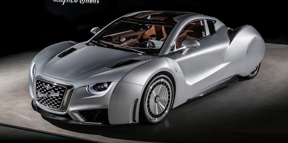 Hispano Suiza Carmen unveiled