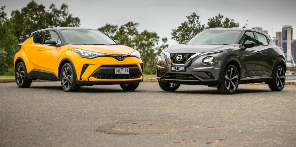 Small SUV review: 2020 Nissan Juke v Toyota C-HR comparison