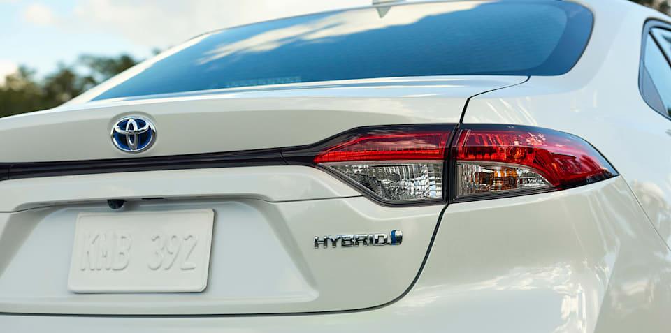 2020 Toyota Corolla sedan hybrid revealed, confirmed for Oz