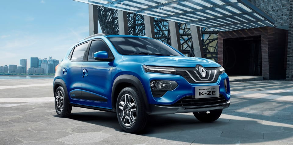 Renault City K-ZE revealed for China