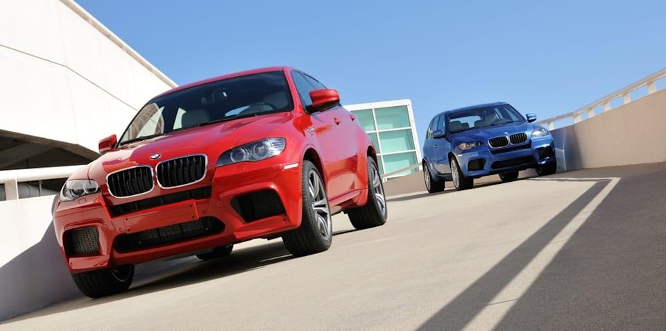 2009 BMW X5 M and X6 M revealed