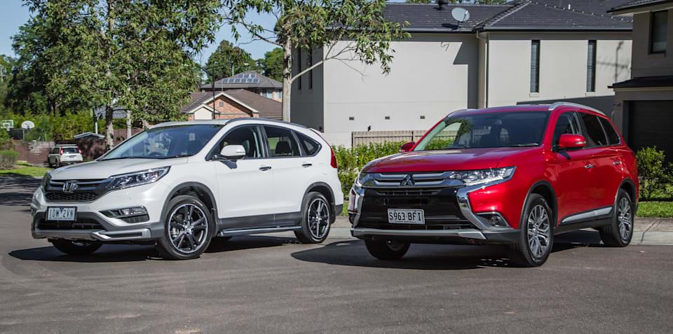 Honda CR-V VTi-L v Mitsubishi Outlander Exceed: Comparison Review