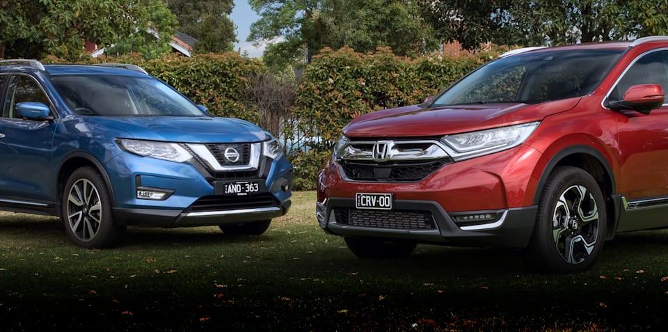 2018 Honda CR-V v Nissan X-Trail comparison
