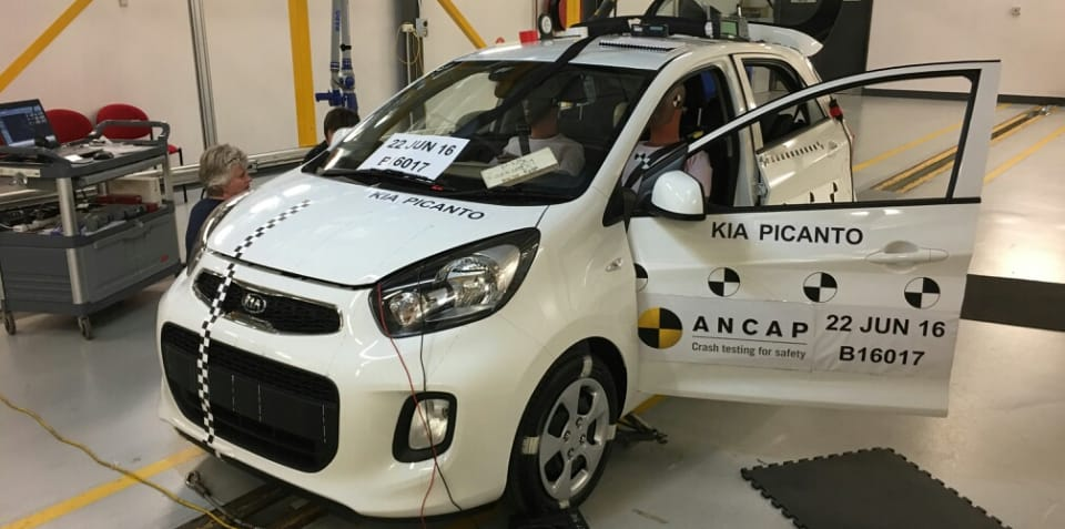 ANCAP: Kia Picanto crashed locally in response to overseas results - UPDATE