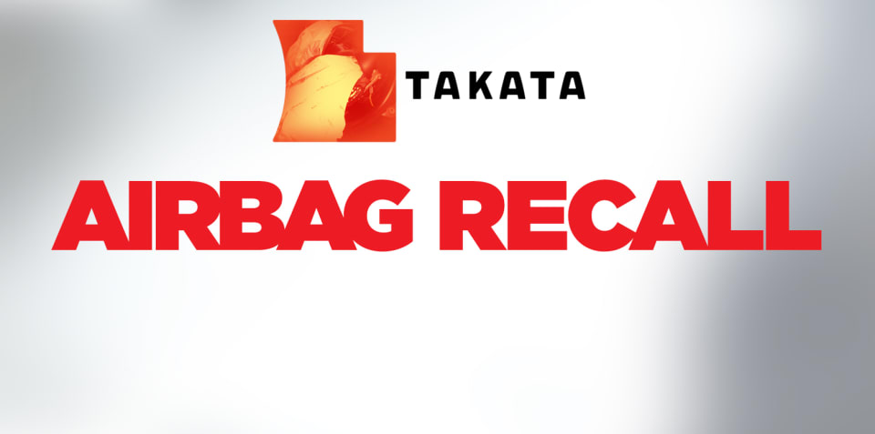 Takata: Compulsory airbag recall announced