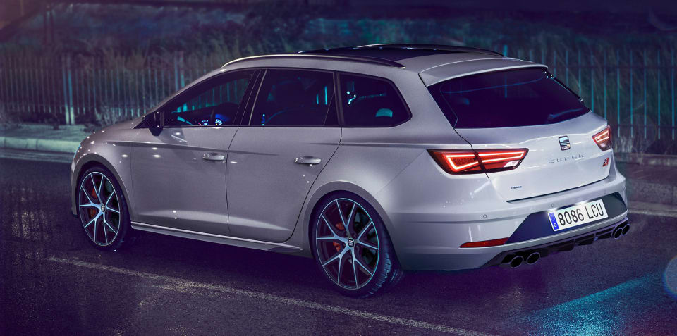 Seat Leon ST Cupra Carbon Edition revealed for the UK