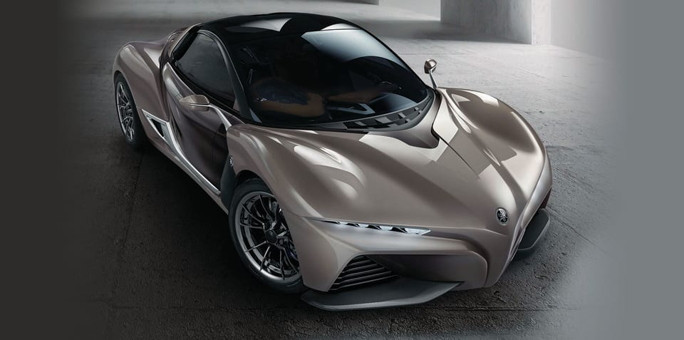 Yamaha Sports Ride coupe revealed in Tokyo: Two-door, carbonfibre coupe previews brand's four-wheeled future