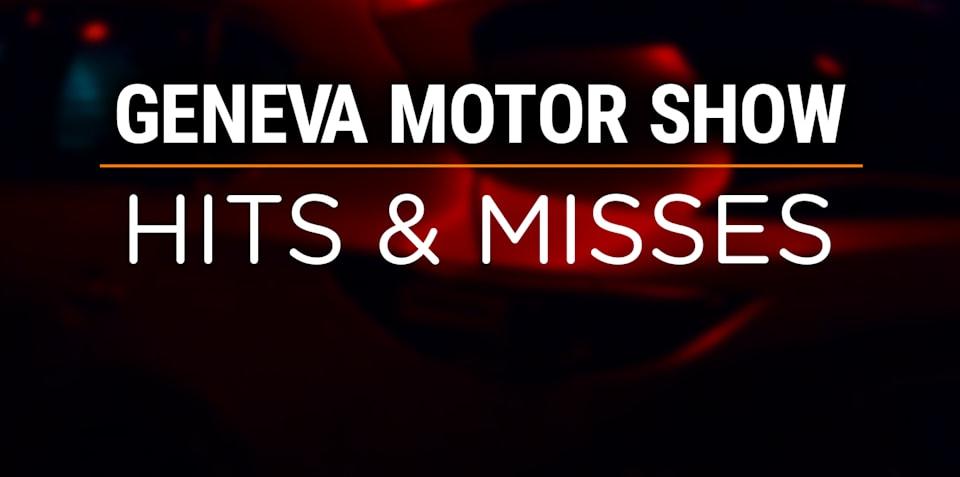2018 Geneva motor show: Hits and misses