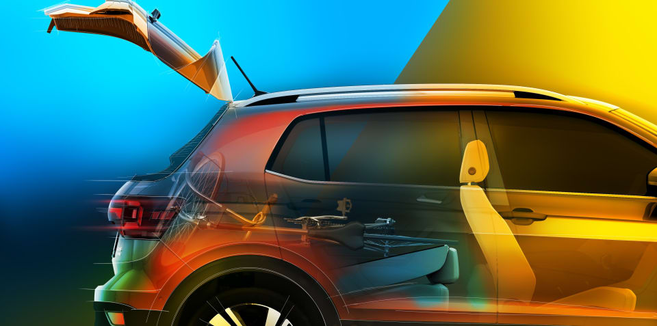Volkswagen T-Cross teased again