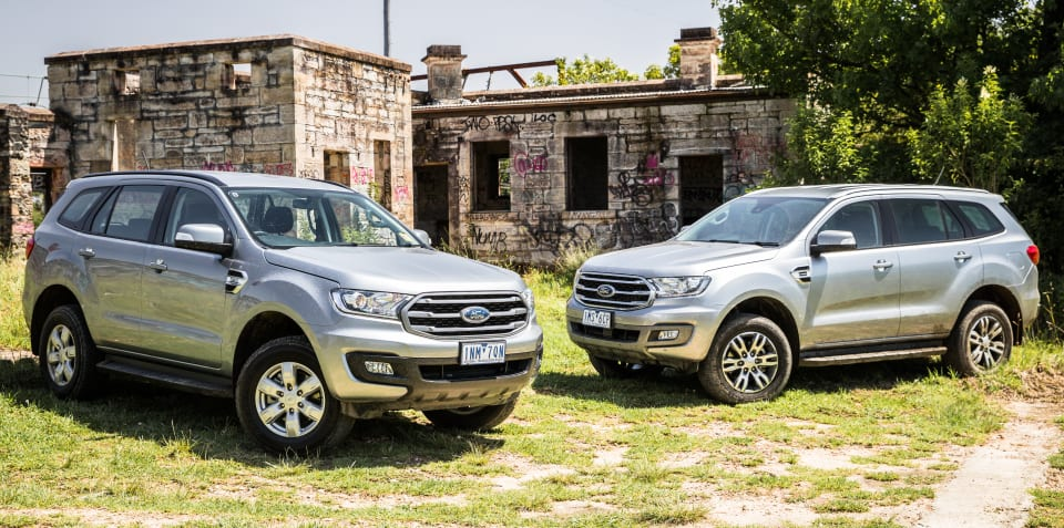 2019 Ford Everest: 2.0-litre v 3.2-litre comparison