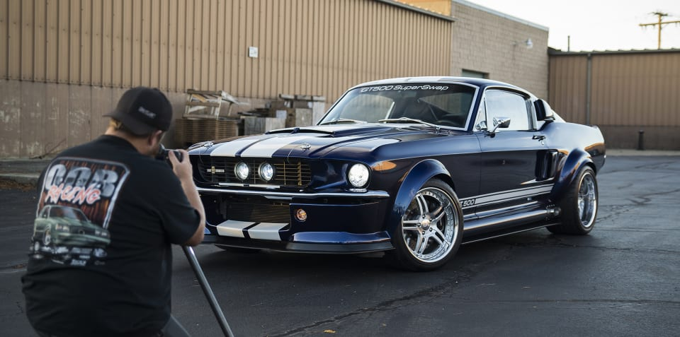One outrageous '1967' Shelby GT500 Mustang: Watch this 4-year transformation in 90 seconds