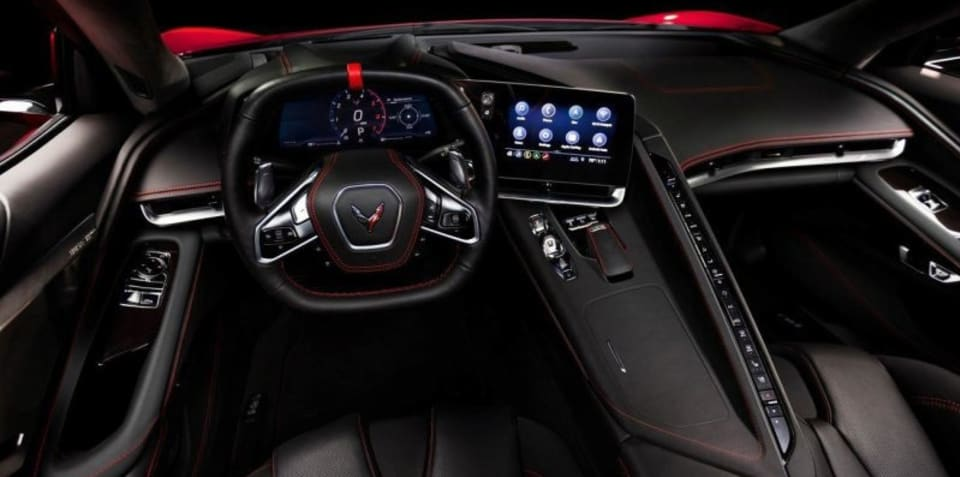 2020 Chevrolet C8 Corvette: Interior leaked