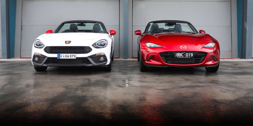 2019 Abarth 124 Spider v Mazda MX-5 GT manual