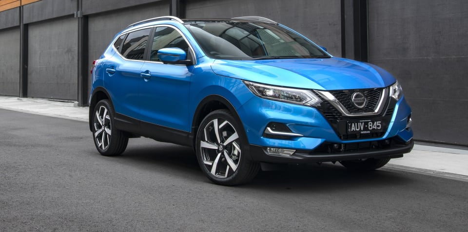 2018 Nissan Qashqai Ti pricing and specs