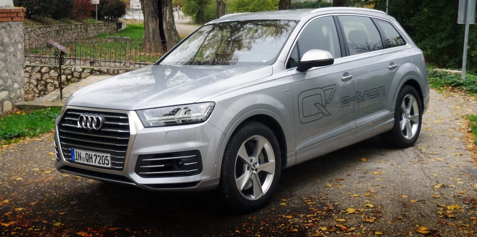 2018 Audi Q7 e-tron pricing and specs