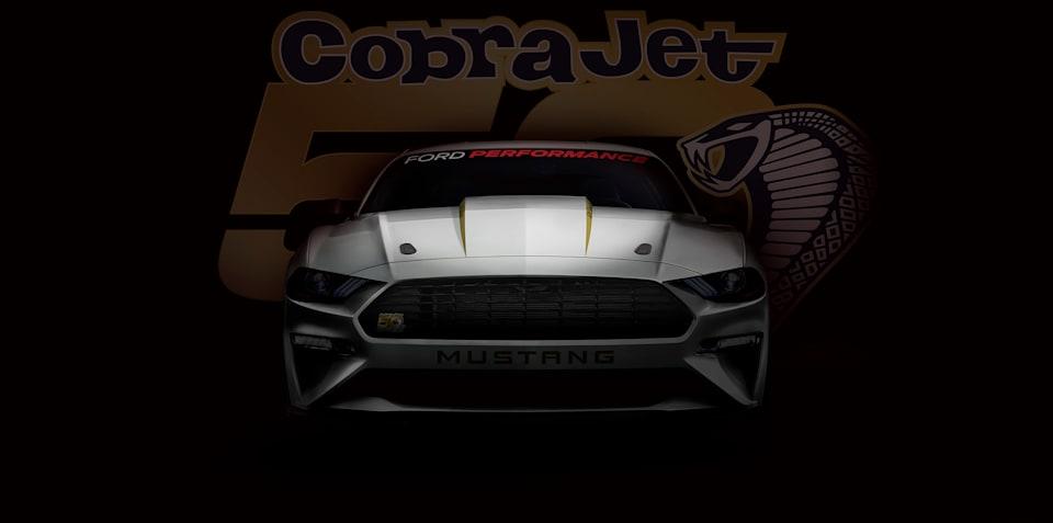 2018 Ford Mustang Cobra Jet teased