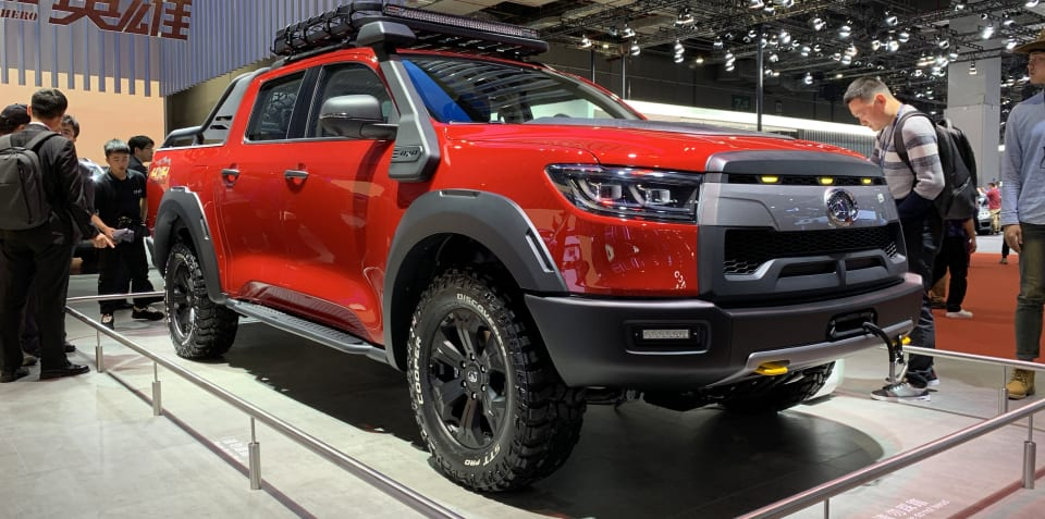 Great Wall's new ute revealed with sights set on Toyota HiLux, Ford Ranger