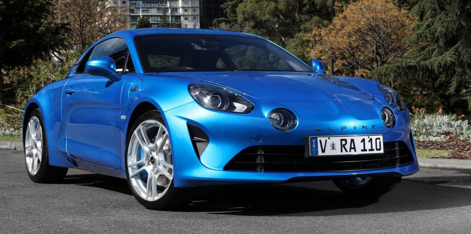 Alpine A110 gunning for Porsche 718 in Australia