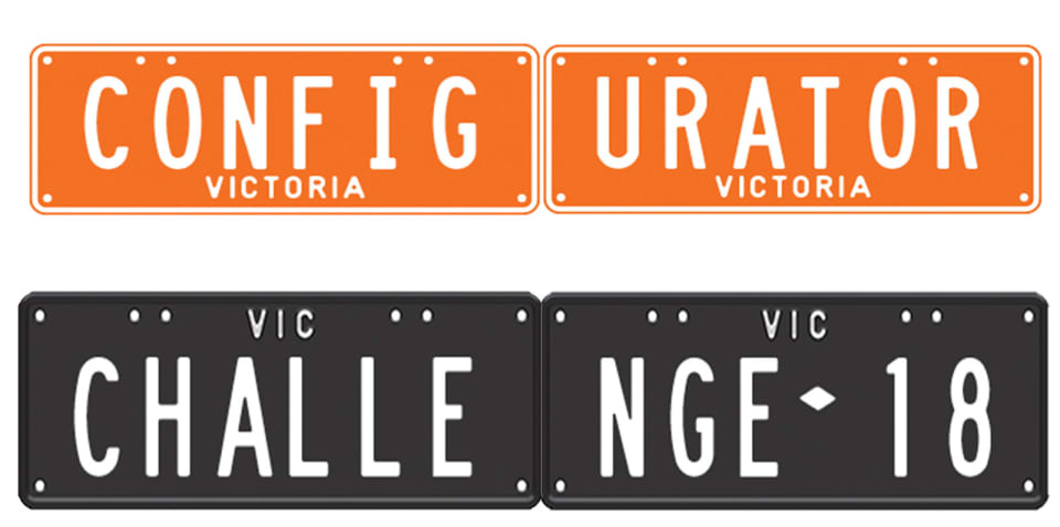 Configurator Challenge: Personalised plates