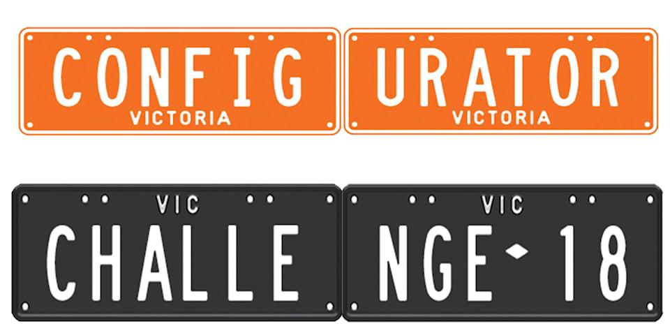 Configurator Challenge: Personalised plates