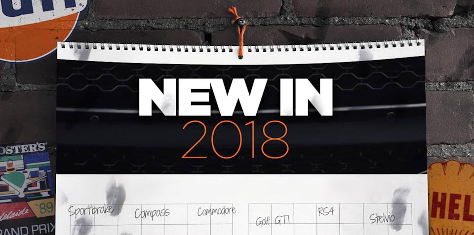 New Cars: 2018 New Car Calendar, the December update