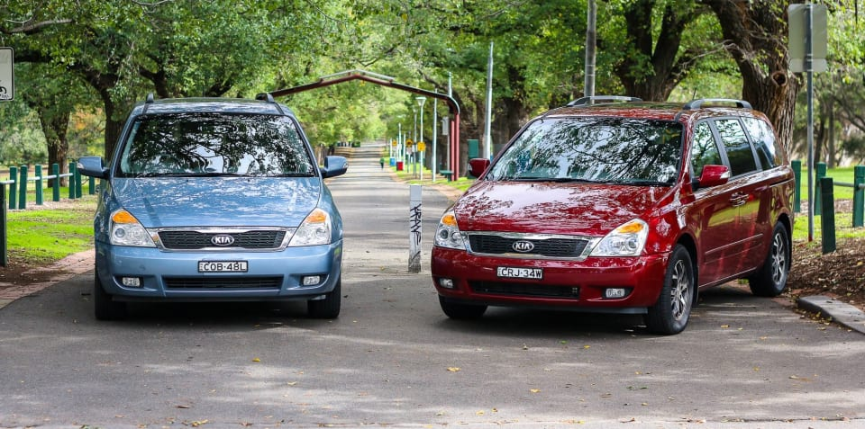 Petrol v Diesel: Kia Grand Carnival Comparison
