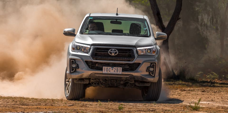 Toyota HiLux outsells entire Holden range