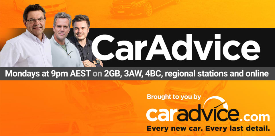 Introducing the CarAdvice Radio Show: Mondays at 9pm AEST