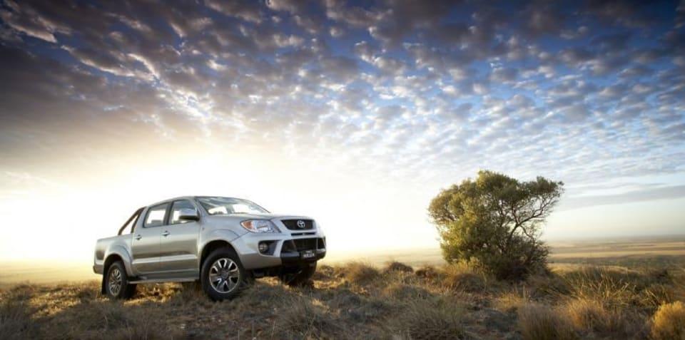 Toyota HiLux tops April sales