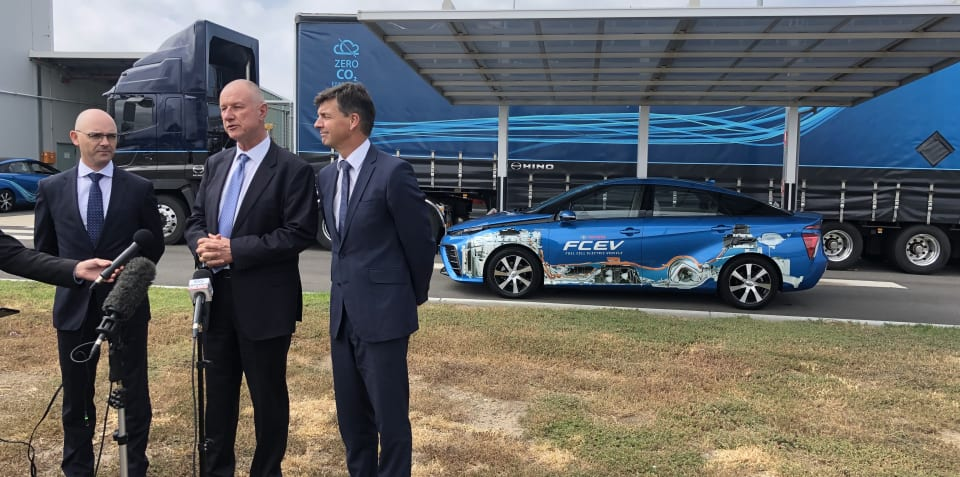Toyota Australia announces multi-million dollar hydrogen filling station at Altona