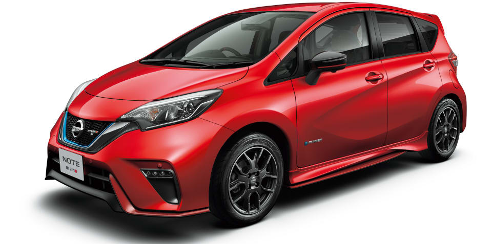 Nissan Note e-Power Nismo S revealed for Japan