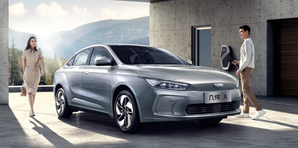 Geely launches Geometry 'high-end' electric car brand