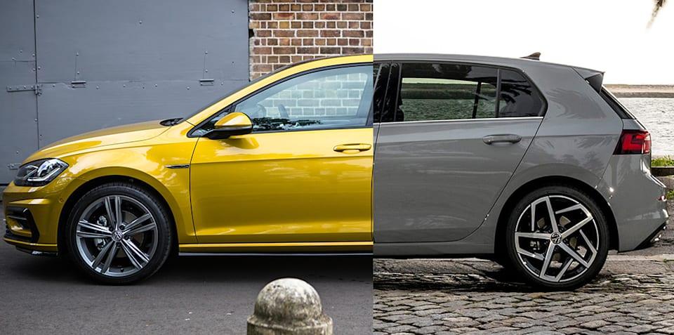 Spec Shootout:2021 Volkswagen高尔夫MK8 V 2020 Volkswagen Golf MK7.5