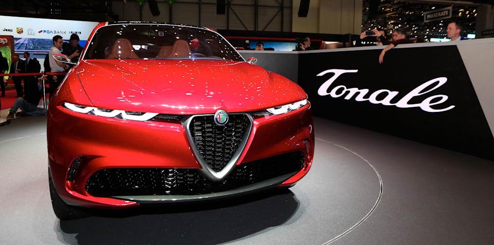 Alfa Romeo Tonale Concept revealed