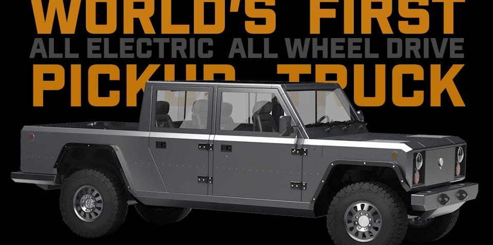 Bollinger B2 electric dual-cab ute revealed