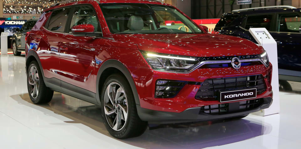 2020 SsangYong Korando detailed in Geneva