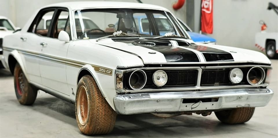 1971 Ford Falcon GTHO Phase III sells for $400,000: 'attacked with an axe, no engine, bring trailer'