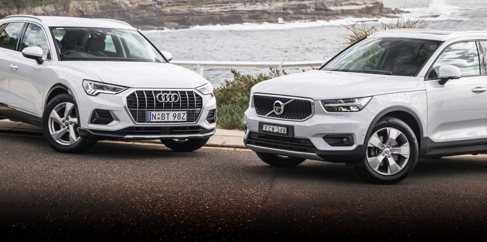 Small SUV comparison review: 2020 Audi Q3 v Volvo XC40