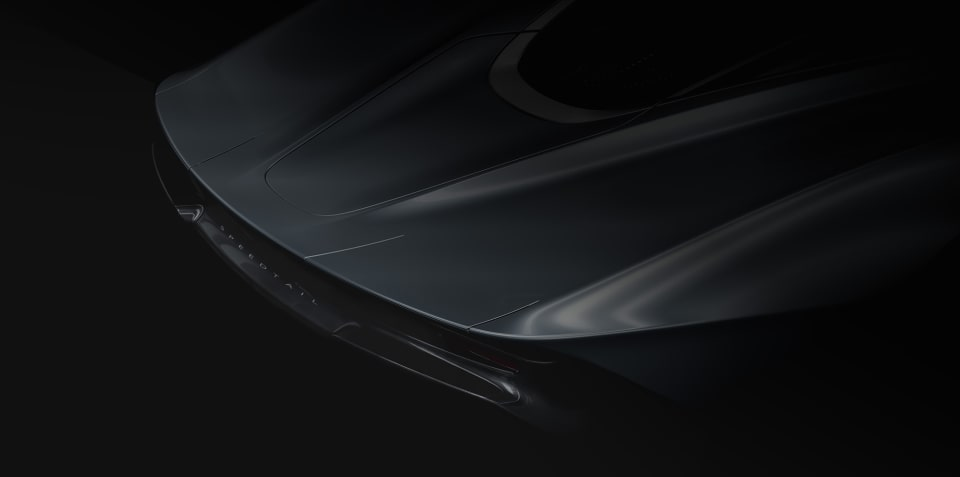 McLaren Speedtail to be revealed October 26