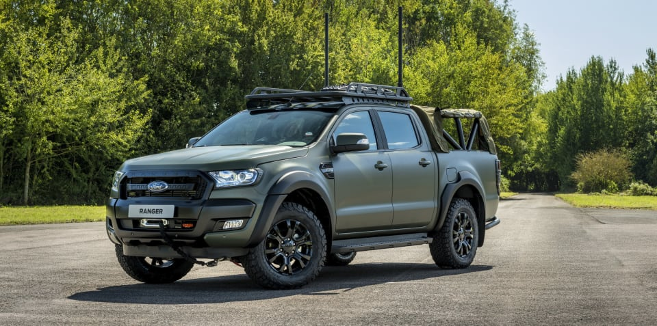 Ford Ranger gets the military treatment – and it could come to Australia