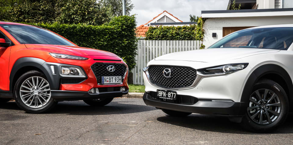 Small SUV comparison: 2020 Mazda CX-30 v Hyundai Kona