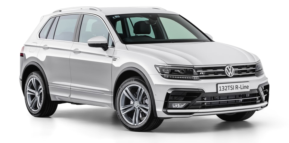 Volkswagen Tiguan 132TSI R-Line on sale from $46,990