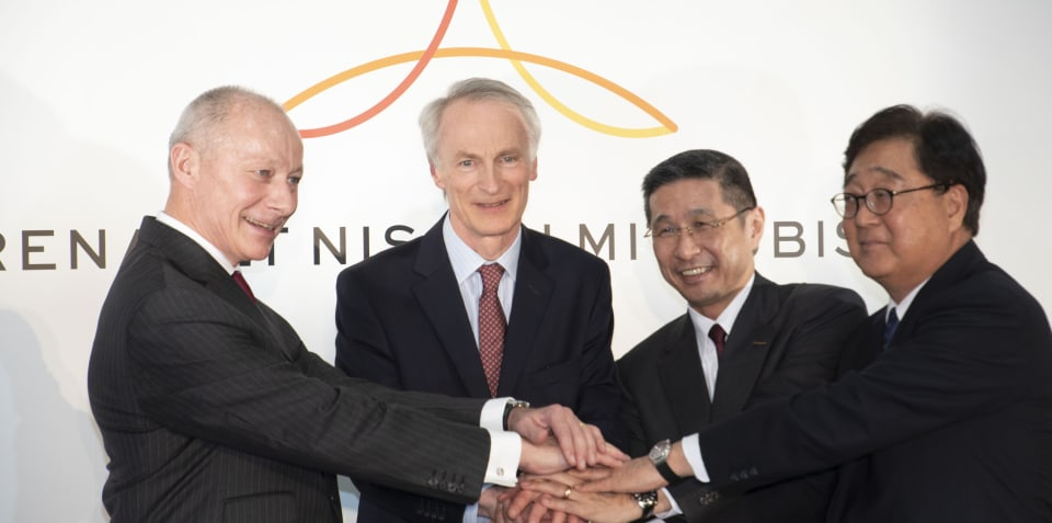 Renault-Nissan-Mitsubishi Alliance agrees to new management structure