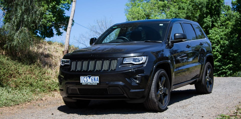 2014 Jeep Grand Cherokee Blackhawk