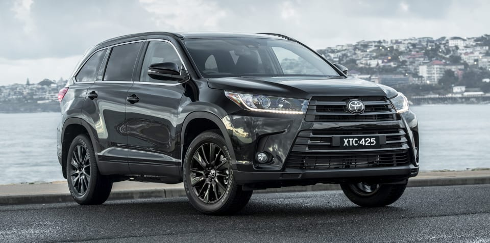 Toyota Kluger Black Edition on sale from $55,970