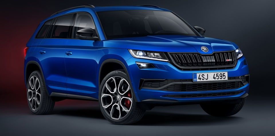 2019 Skoda Kodiaq RS unveiled