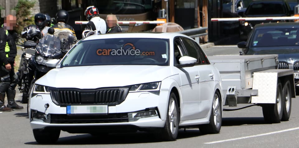 2020 Skoda Octavia spied inside and out