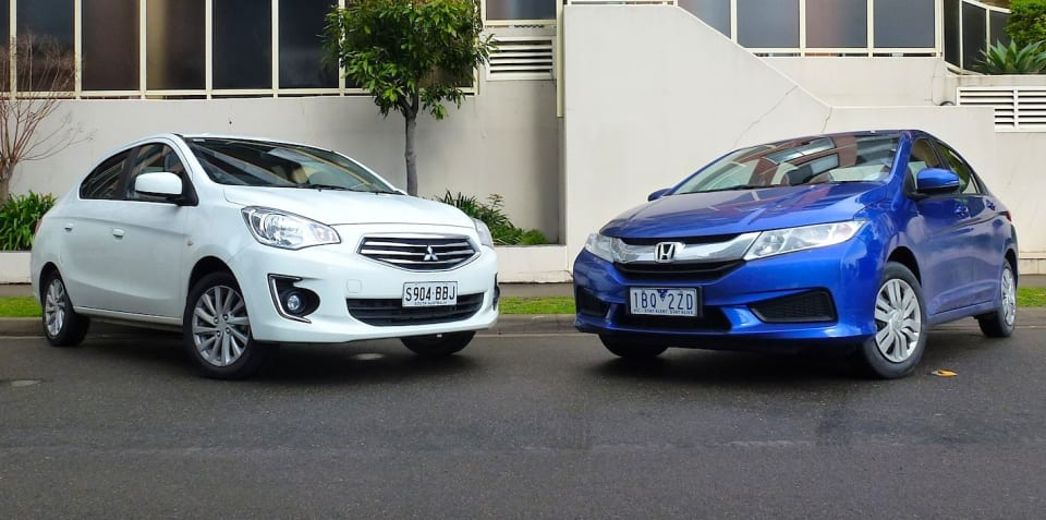 Honda City v Mitsubishi Mirage sedan : Comparison review