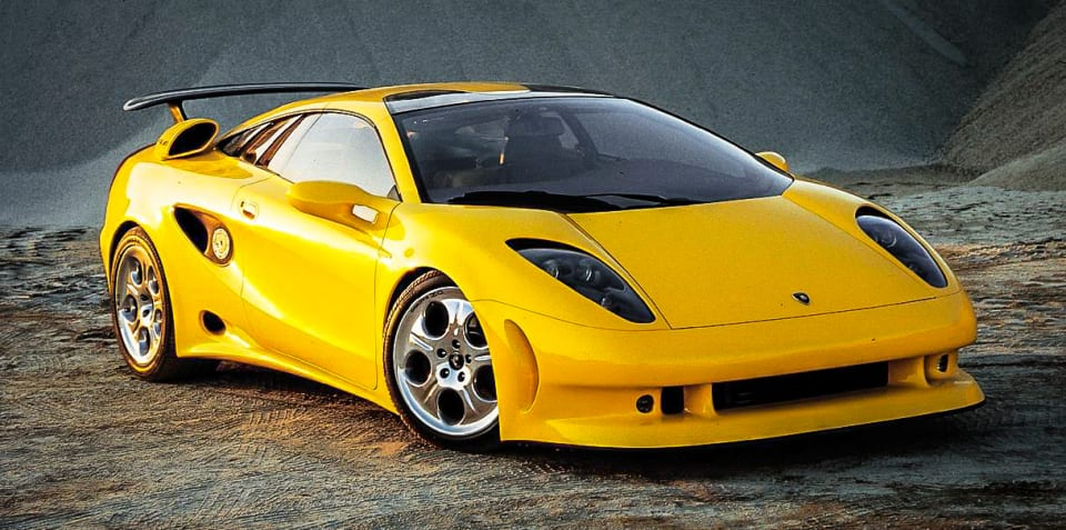 Design Review: Lamborghini Calà (1995)