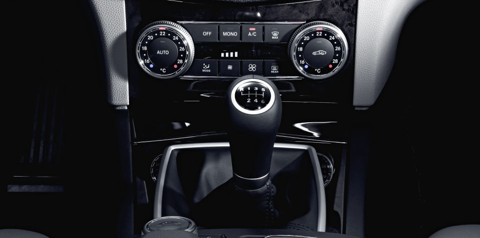 Mercedes-Benz set to retire the manual transmission